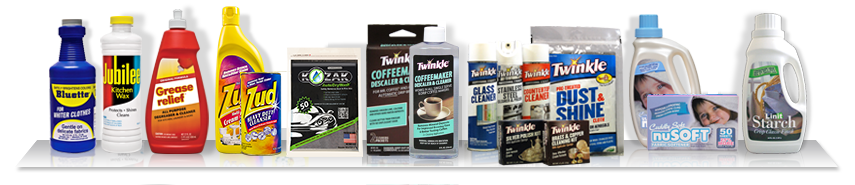 Malco Consumer Products - Bluette, Zud, Mr. Coffee Cleaner, Twinkle, NuSoft, Linit